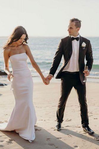 Mens Wedding Attire For Beach Celebration ★  mens wedding attire black with bowtie chosenbyoneday