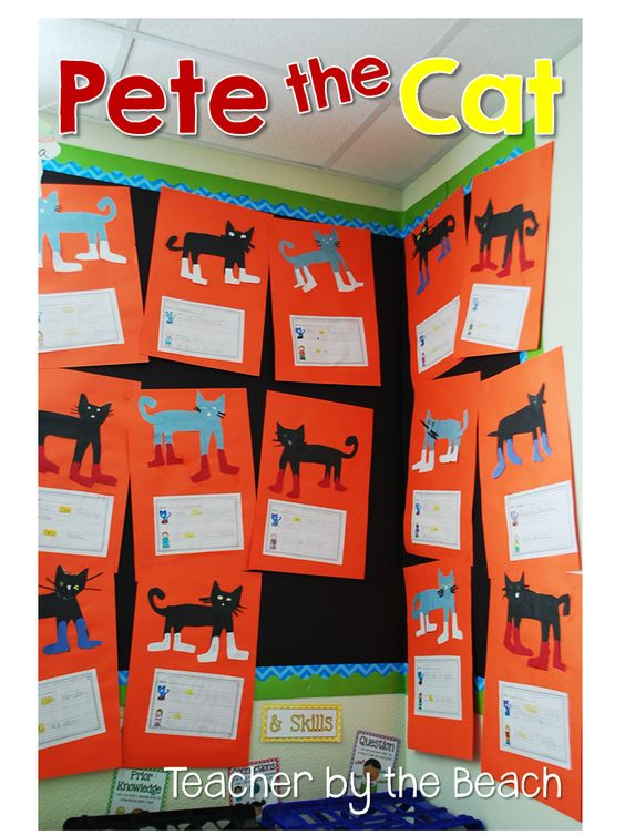 Teacher by the Beach: Pete the Cat: