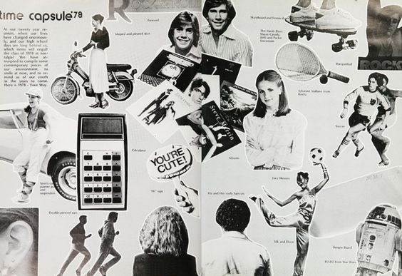A time capsule of 1978, in the yearbook at University High School in Irvine, California.  #UniversityHighSchool #Irvine #yearbook #1978