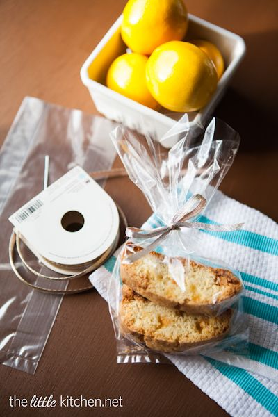 Meyer Lemon and White Chocolate Biscotti from The Little Kitchen ...