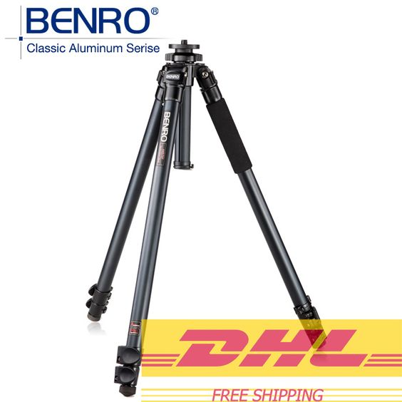 $216.00 (Buy here: http://appdeal.ru/ees4 ) BENRO A3570F Aluminum Tripod Leg Universal Support Tripods For Canon Nikon Sony Mini Camera 3 Section,Max loading 15kg for just $216.00