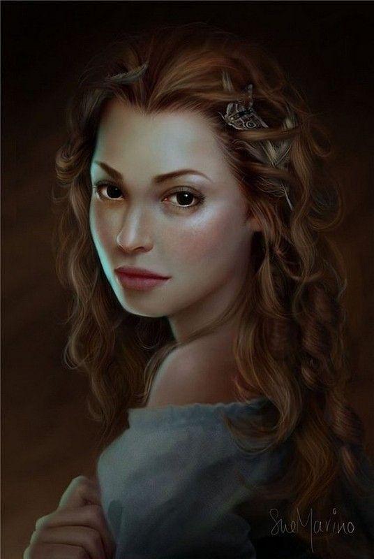Fantasy Art Female Innkeeper