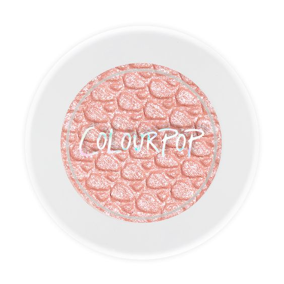 Tea Party light pink with silver glitter by colour pop ~ great for a one shadow look for any eye color