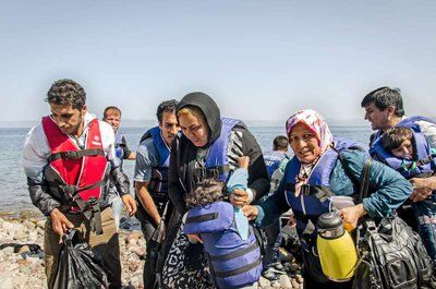 Refugee arrivals in Greece rise dramatically | www.unhcr.ch