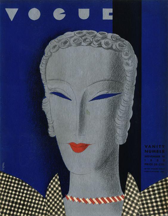 Vogue November 15, 1933, by Eduardo Benito