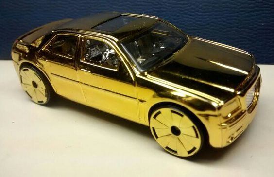 My special edition Hot Wheels Golden Chrysler 300C