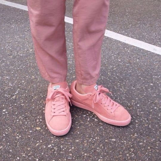 reflxctor pink PUMA SUEDE #pink #style