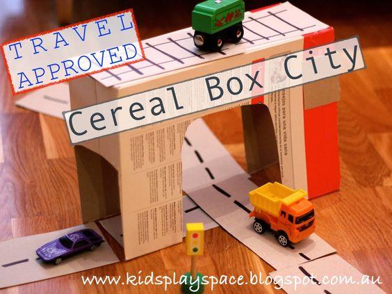 atreveos a disear casas con cajas de cereales