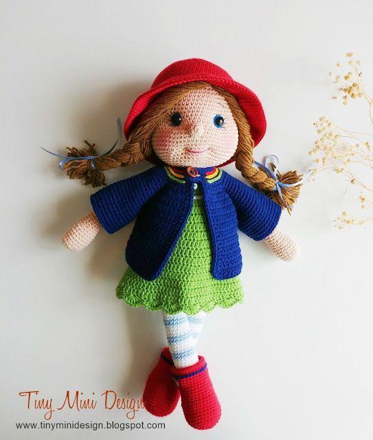 TonTon Doll and Tilda Bunny Free English Pattern | Örme olmayan ... | 640x543