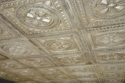 3d embossed faux tin ceiling tile decor furnishing for 3d ceiling paper
