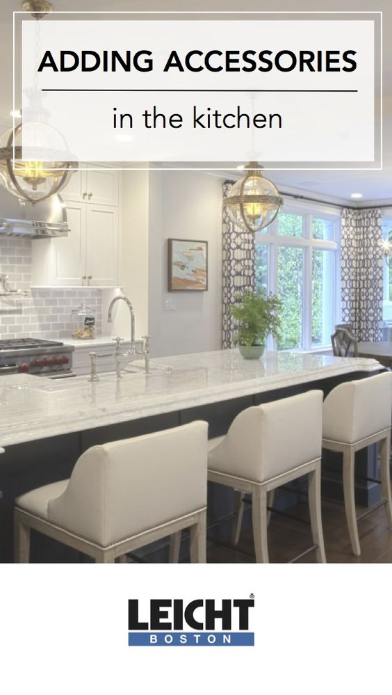 Tips for adding accessories to your kitchen. https://leichtboston.com/accessories-in-the-kitchen/