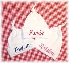 Personalized Baby Hats by babyobaby.com