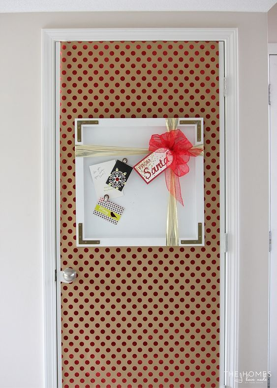 Decorate Your Dorm Or Apartment Door For The Holidays With These Three  Simple, Inexpensive And Festive Do It Yourself Holiday Projects.