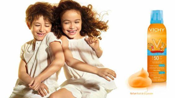 Amostras e Passatempos: LuxWoman - Passatempo Proteção Solar VICHY