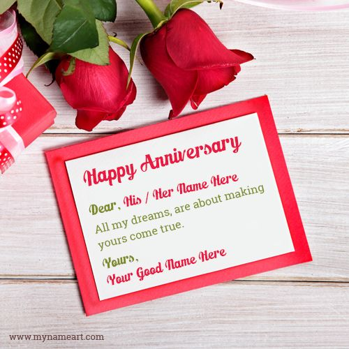 Anniversary Wishes For Wife Or Husband Wedding Anniversary Cards