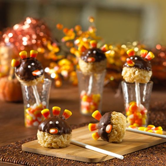 Are you into cereal treats? Check out these delicious Turkey Pop Treats! Follow @Joanna Szewczyk Gierak Burton and get this easy to make recipe!