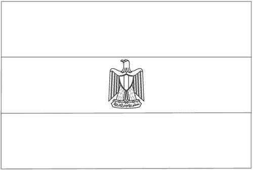 Drapeau gyptien colorier egypte ancienne pinterest - Drapeau a colorier ...