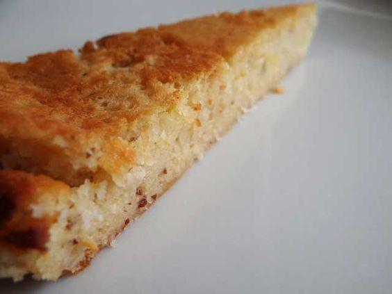 Vanille Kokos Traumkuchen mit Bittermandel Note   Low Carb Rezepte