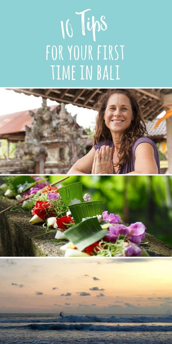 From the correct visa to transport: don't miss these 10 tips for your first time in Bali.