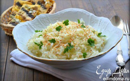 Салат из кольраби | Кулинарные рецепты от «Едим дома!»