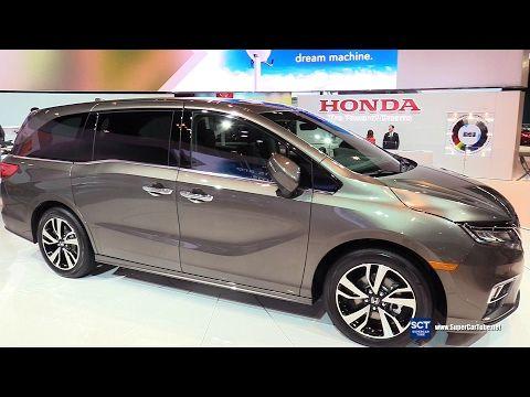 2018 Honda Odyssey Elite Exterior And Interior Walkaround 2017 Chicago Auto Show Youtube Honda Odyssey Honda Van Honda