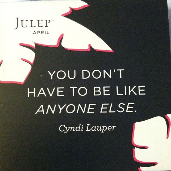 Words to live by! #JulepMaven
