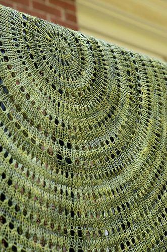 Pi Shawl - Knitting to Stay Sane pattern by Elizabeth Zimmerman - lace knitti...