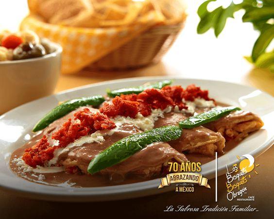 Sabor mexicano que conquista. #SabordeMéxico #Comida   http://bisquetsobregon.com/