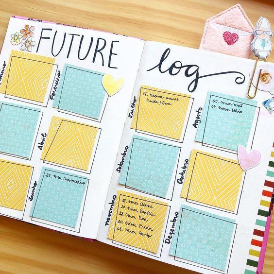 10 futur log dont s'inspirer pour votre Bullet Journal