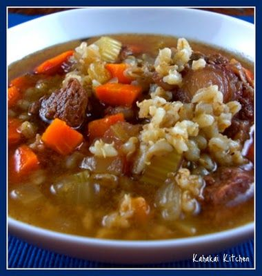 Barefoot Contessa 39 S Beef Barley Soup Favorite Recipes