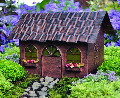 The Fiddlehead Miniature Fairy Garden Solar Fairy House Kathys Show Tack  Http://www.amazon.com/dp/B006K1VTEE/refu003dcm_sw_r_pi_dp_pgpItb0M7FNQ4FJM |  Pinterest ...