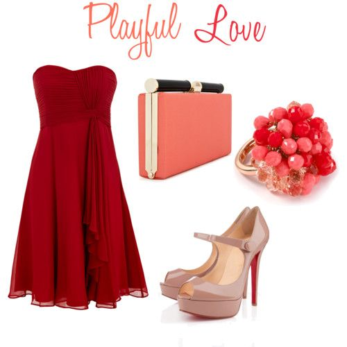 valentine day dress color means