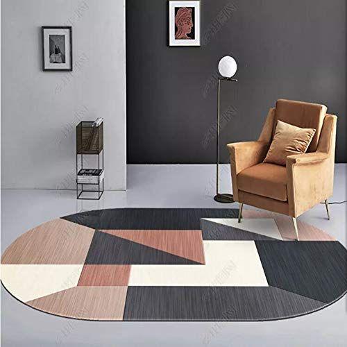 mchpp tapis ovale minimaliste moderne
