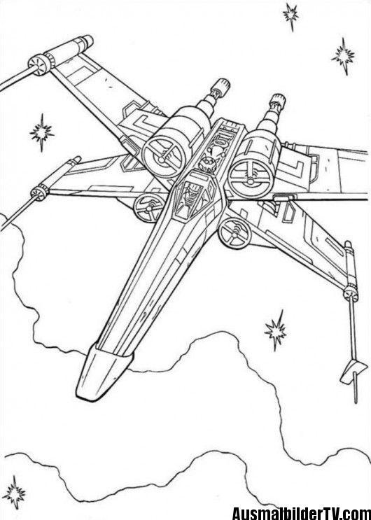 Ausmalbilder X Wing Ausmalbilder Jungs Malvorlagen Zum