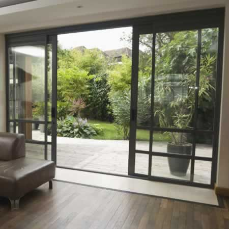 Extend your home or narrow room with pocket doors doors for Narrow sliding glass door