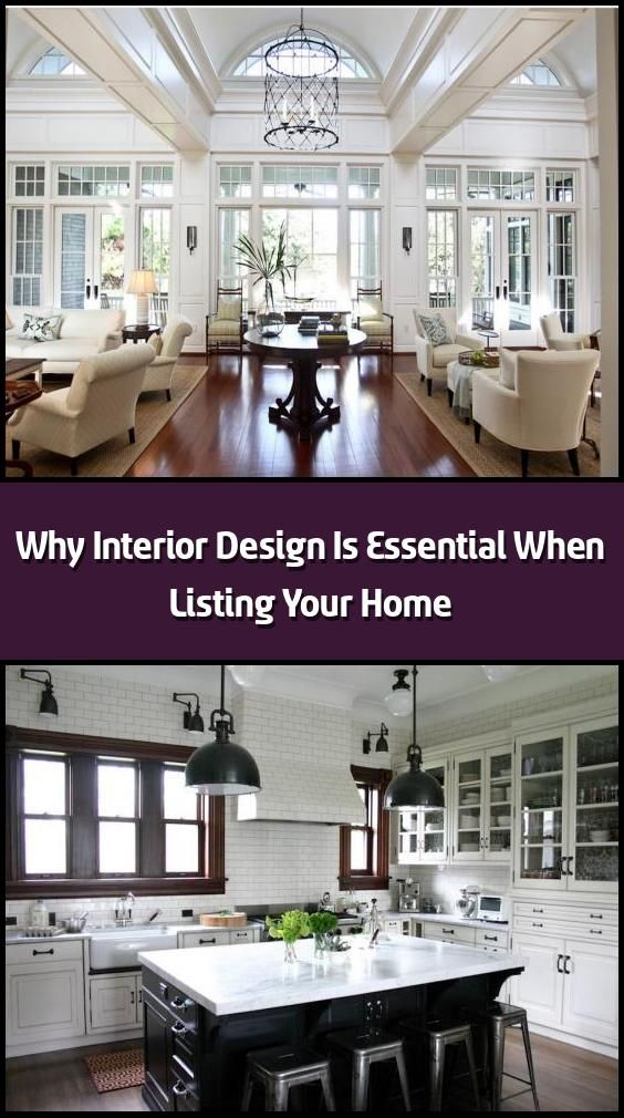 Why Interior Design Is Essential When Listing Your Home Interior