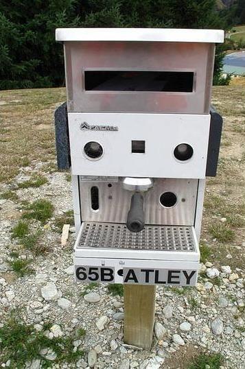 Espresso Machine Mailbox