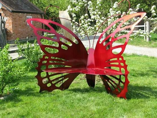 Banca de mariposa