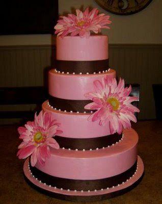 "very elegant wedding cakes | Wedding Cakes 2010 ""Wedding Cake With Flowers"""