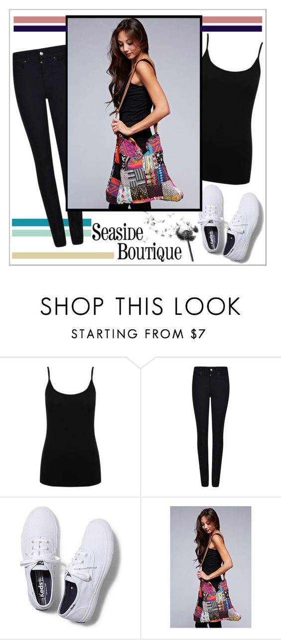 """""""Seaside Boutique"""" by water-polo ❤ liked on Polyvore featuring M&Co, Giorgio Armani, Keds and seasideboutique"""