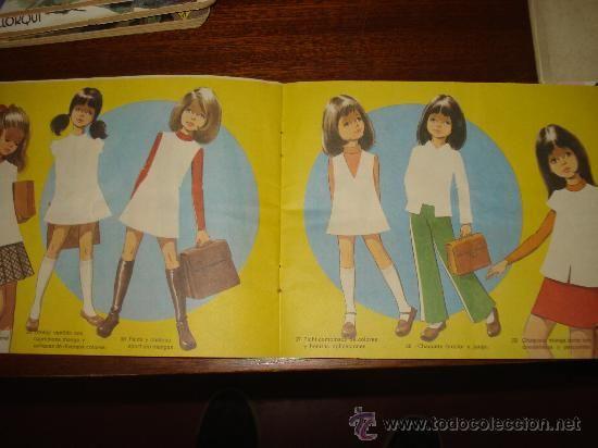 Album de Figurines del chicle NIÑA de FLEER. Año 1975. (Papel - Cromos y Álbumes - Álbumes Incompletos):