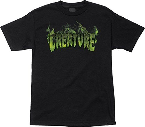 Creature Inferno TShirt Medium Black *** You can get more details by clicking on the image.