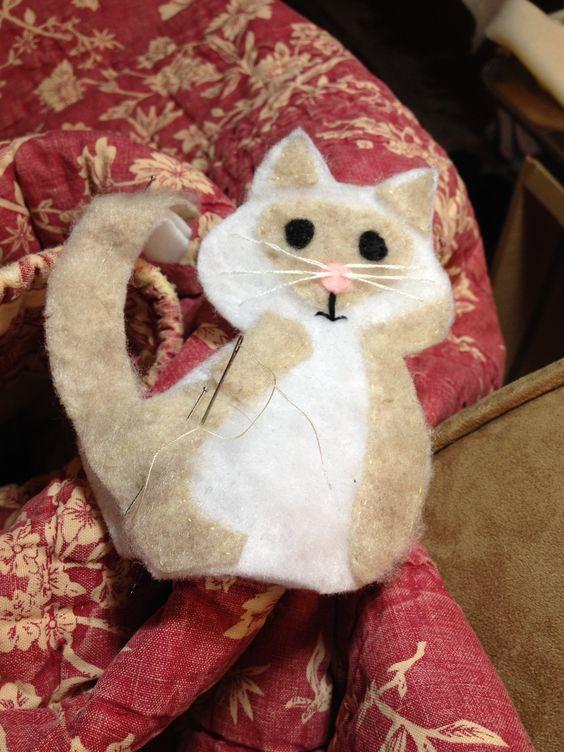 Henry the Fluffy Christmas Cat