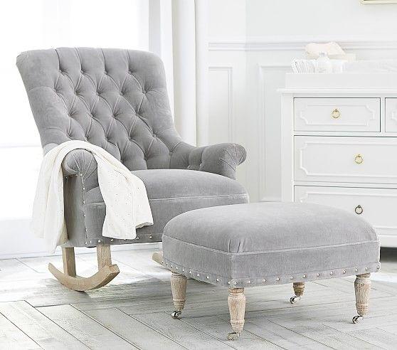 Radcliffe Rocking Chair Ottoman Furniture Chair Ottoman