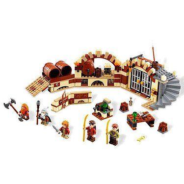 Lego The Hobbit - 301279 - 79004 - L'invasion Du Royaume Des Elfes Sylvains