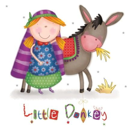 Helen Poole - little donkey nativity.jpg: