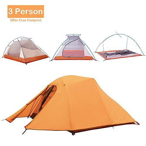 Family Camping Tent Ntk Topnaca 1 2 3 Person 4 Season Backpacking Tent Lightweight Waterproof Two Family Tent Camping Best Tents For Camping Winter Camping