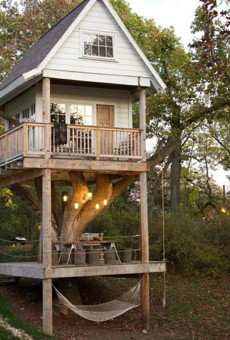 now that's a treehouse.