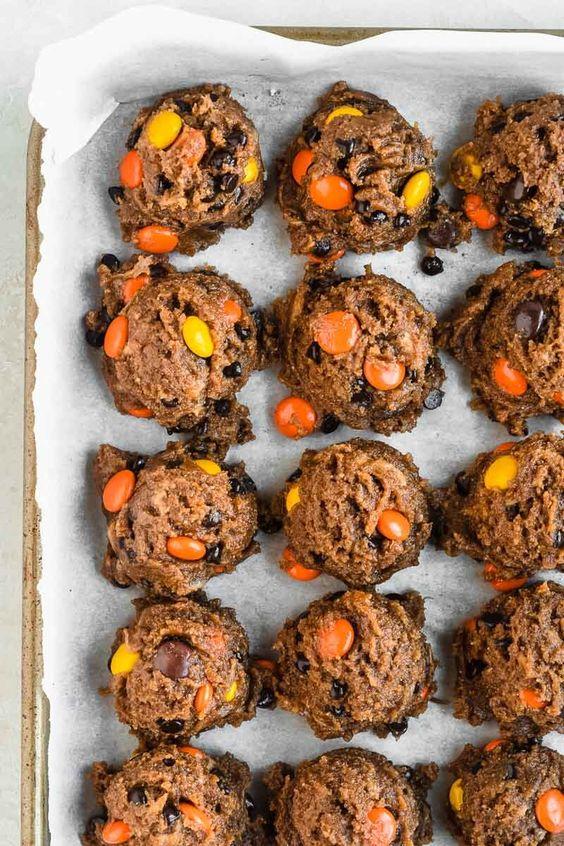 Healthy Flourless Peanut Butter Cookies