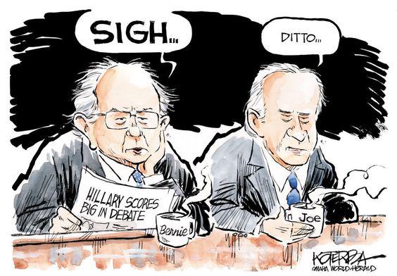 2016 bernie Biden Democrats